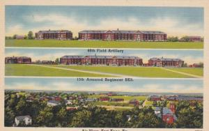 Kentucky Fort Knox Aerial View & 68th Field Artillery & 13th Armored Regiment...