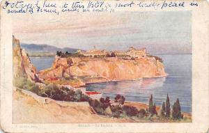 Monaco - Le Rocher, Rock, Panorama 1952