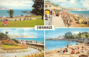 B104186 swanage ballard down and the bay monkey beach    uk
