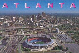 Atlanta Fulton County Stadium Atlanta Georgia