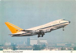 South African Airways Boeing 747Sp -