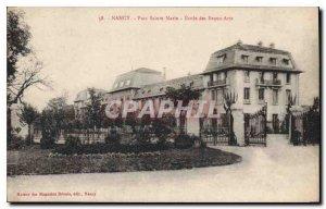 Old Postcard Nancy Parc Sainte Marie Fine Arts School