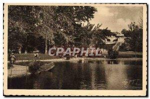 Postcard Old Valence (Drome) The Jouvet Park