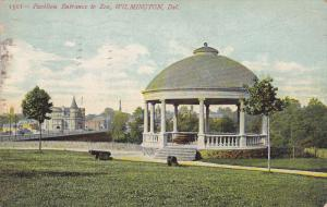 Pavilion Entrance to Zoo, Wilmington, Delaware, PU-1907