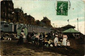 CPA CABOURG - Vue générale de la Plage (383224)