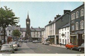 Wales Postcard - Machynlleth- Montgomeryshire  - Ref 13145A