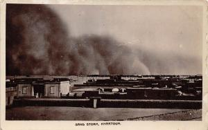 Sudan Khartoum, Sand Storm, Victoria Stationery