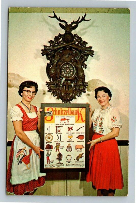 Frankenmuth MI- Michigan Frankenmuth Bavarian Inn Vintage Chrome c1970 Postcard