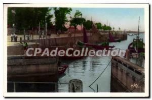 Postcard Old Port Riva Bella