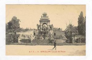 Cascada Del Parque, Barcelona, Spain, 1900-1910s