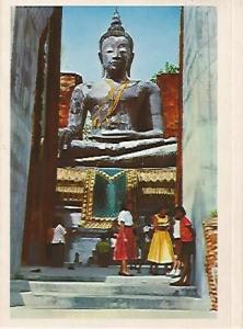 POSTAL 56098: TAILANDIA. BUDA en Ayudhya