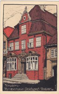 Patrizierhaus - Deichgraf- Todsen, TONDERN, Germany, 1900-1910s