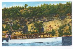 Capt Palmers Stroller Boat Seneca Lake Watkins Glen NY 1954
