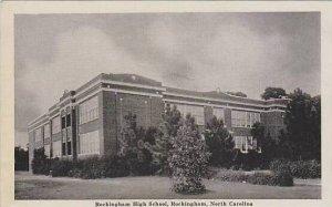 North Carolina Rockingham Rockingham High School