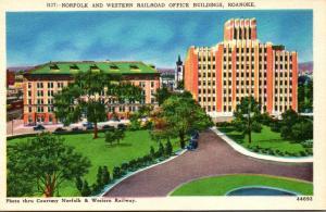 Virginia Roanoke Norfolk and Western Railroad Office Buildings