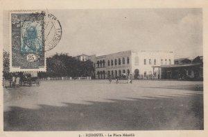 DJIBOUTI , 00-10s ; La Place Menelik