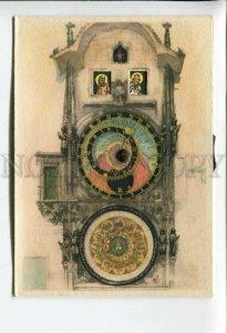 3164139 Prahy Prag Czech Republic PRAGUE clock MECHANICAL pc