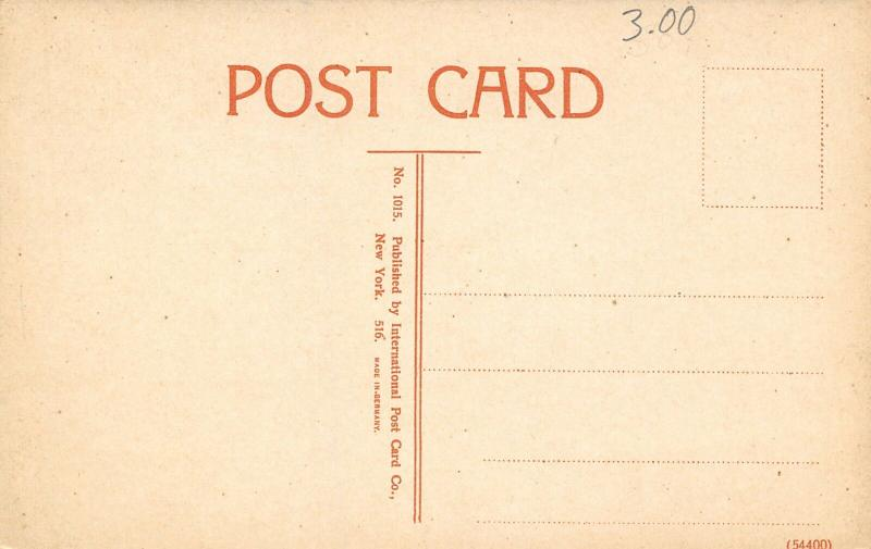 Vicksburg Mississippi~Union Avenue Bridge No 1~Concrete Arch~Rails~1908 Postcard