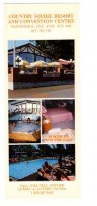 Otonabee Motor Inn Peterborough Ontario Approx 3.5 X 9 Inch Advertising Postcard