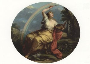 Angelica Kauffman Design & Colour 1778 London Gallery Painting Postcard