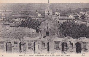 ARLES, Bouches-du-Rhone, France, 1900-1910s; Eglise Notre-Dame De La Major, P...