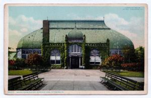 1905 Pittsburg PA Phipps Conservatory Building Schenley Park Pittsburgh Postcard