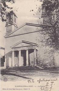 Saint-Hippolyte , Haut-Rhin department , Alsace , France. 1910s Le TEmple