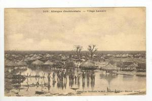 Village Lacustre, Afrique Occidentale Française, Africa, 1900-10s