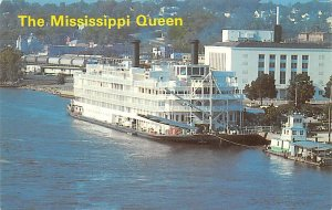 Mississippi Queen Ferry Boats Ship Unused