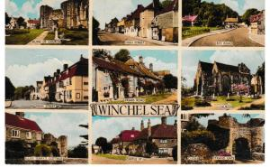 Post Card Sussex WINCHELSEA 9 views Norman - Shoesmith & Etheridge C11205
