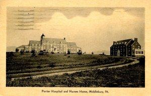 VT - Middlebury.  Porter Hospital & Nurses Home
