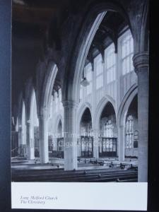Suffolk: Long Melford Church, The Clerestory RP, Old Postcard