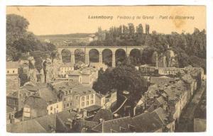 Faubourg Du Grund, Pont Du Bisserweg, Luzembourg, 1900-1910s