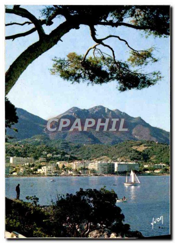 Postcard Modern View Of Menton Cap Martin