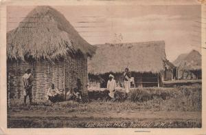 East Indian Huts, Trinidad, British West Indies, Used in 1930.