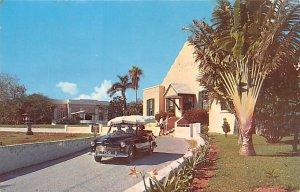 Bermuda Post card Old Vintage Antique Postcard Bermuda Aquarium and Museum Po...