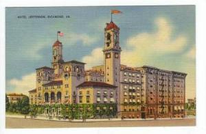Hotel Jefferson, Richmond, Virginia, PU-1946