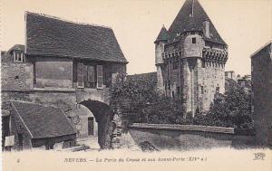 France Nevers La Porte et son Avant-Porte