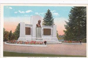 Pennsylvania Gettysburg Lincoln Speech Memorial