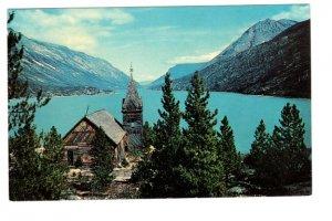 Old Bennett Church, Bennett Lake, British Columbia