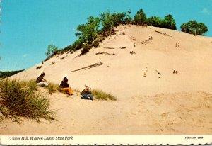 Michigan Warren Dunes State Park Tower Hill 1975