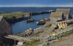 Blue Rocks Nova Scotia Canada Unused
