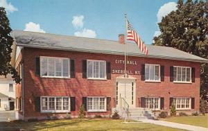 Sherrill New York City Hall Street View Vintage Postcard K47872
