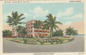MIAMI , Florida , 1930-40s ; Niami Miramar Hotel