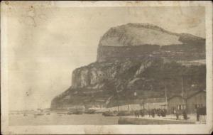 Gibraltar Landing at Stone Jetty c1910 Amateur Real Photo Postcard