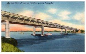 New Jersey Raritan River Bridge