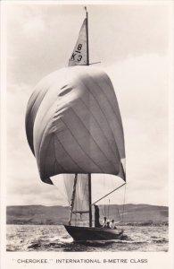 RP: Sailing Vessel ; CHEROKEE , International 8-metre Class , 30-50s