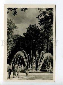 289840 USSR Peterhof Adam fountains Khaikin photo 1938 Lenfotokhudozhnik