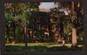ME Massachusetts Hall Bowdoin College BRUNSWICK MAINE