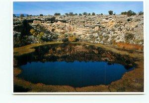 Montezumas Well Tuzigoot Shot Sinagua Cliff Dwellings Camp Verde Arizona